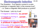 changing magnetic field