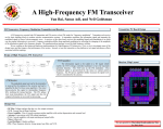 FM Transceiver: Frequency-Modulation Transmitter and Receiver