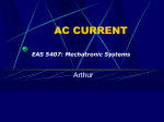 EAS 5407: Mechatronic Systems