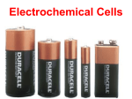 13.1 Electrochemical Cells
