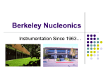 ppt - Berkeley Nucleonics Corporation