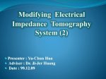 Modifying Electrical Impedance Tomography System (2)
