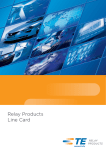 Relay Products Line Card