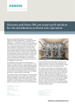 Siemens and Netze BW put smart grid solution
