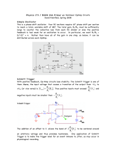 Physics 173 / BGGN 266 Primer on Nonlinear OpAmp Circuits
