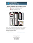 Measurement & Control News