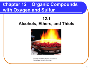 Compounds with Oxygen Atoms