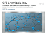 GFS Chemicals Organic Manufacturing