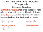 22-4 Other Reactions of Organic Compounds