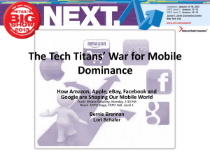 The Tech Titans` War for Mobile Dominance