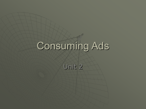 Consuming Ads