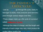 April 8 Product Life Cycle BMI3C