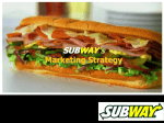 2010-10-23 SUBWAY - Marketing-Team
