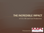 The Incredible Impact of US Oil and Gas