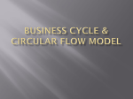 Business Cycle & Circular Flow Model