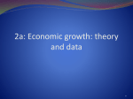 Causes of aggregate economic growth