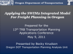 Presentation - 15th TRB National Transportation Planning