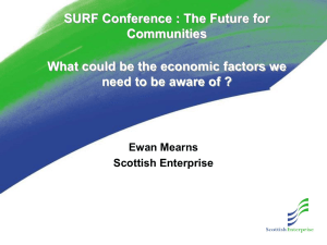 Ewan Mearns` Powerpoint Presentation