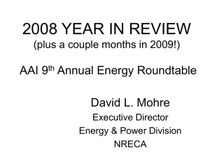 2008 YEAR IN REVIEW (plus a couple months in 2009!) AAI