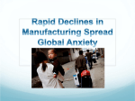 Rapid Declines in Manufacturing Spread Global Anxiety
