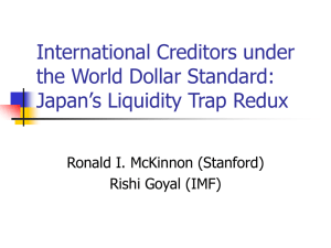 International Creditors under the World Dollar Standard