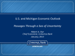 The U.S. Economic and Financial Market Outlook
