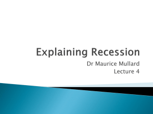 Keynes and Recession