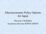Macroeconomic Policy in Japan