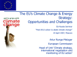EU Climate Change Policy