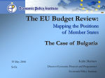The EU Budget Review: Mapping the Positions of Member States