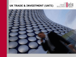Delivering the UKTI Strategy
