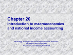 Chapter 20 Introduction to macroeconomics