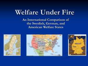Welfare Under Fire - Huntingdon College
