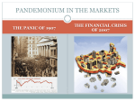 PANDEMONIUM IN THE MARKETS