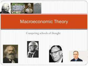 Macroeconomic Theory - Thompson Rivers University