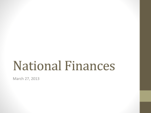 National Finances and MNCs