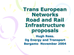 Trans European Networks Road and Rail Infrastrcuture proposals