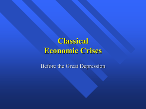 Economic Crises - University of Texas at Austin