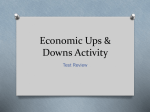 Economic Ups & Downs Activity