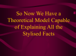 So Now We Have a Theoretical Model Capable of Explaining All the