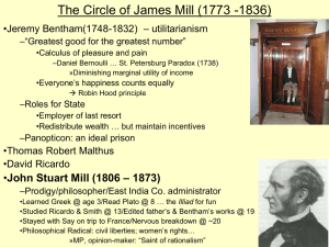 The Circle of James Mill (1773