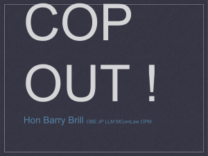 COP OUT - The Heartland Institute`s International Conferences on