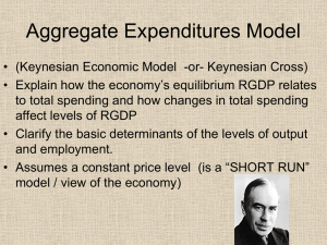 """Classical"" economic theory and ""Keynesian"