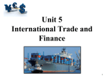 International Trade and Balance of Payments