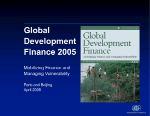 Mobilizing Finance and Managing Vulnerability