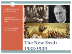 DSU PP Ch 26 New Deal and FDR_Concise