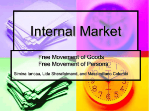 Internal Market