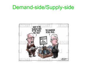 Demand-side/Supply-side