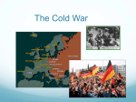 The Cold War Presentation