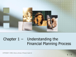 Chapter 1 Understanding the Financial Planning Process